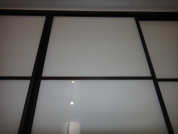 Большой шкаф-купе-Шкаф-купе из стекла Лакобель «Модель 178»-фото1