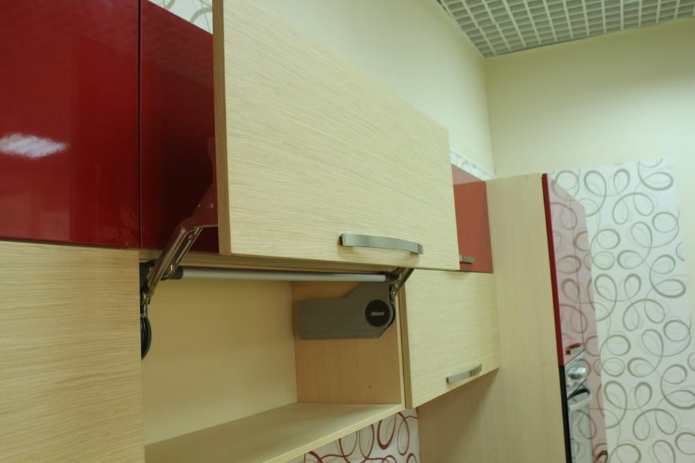 Акриловые кухни-Кухня из пластика «Модель 129»-фото11