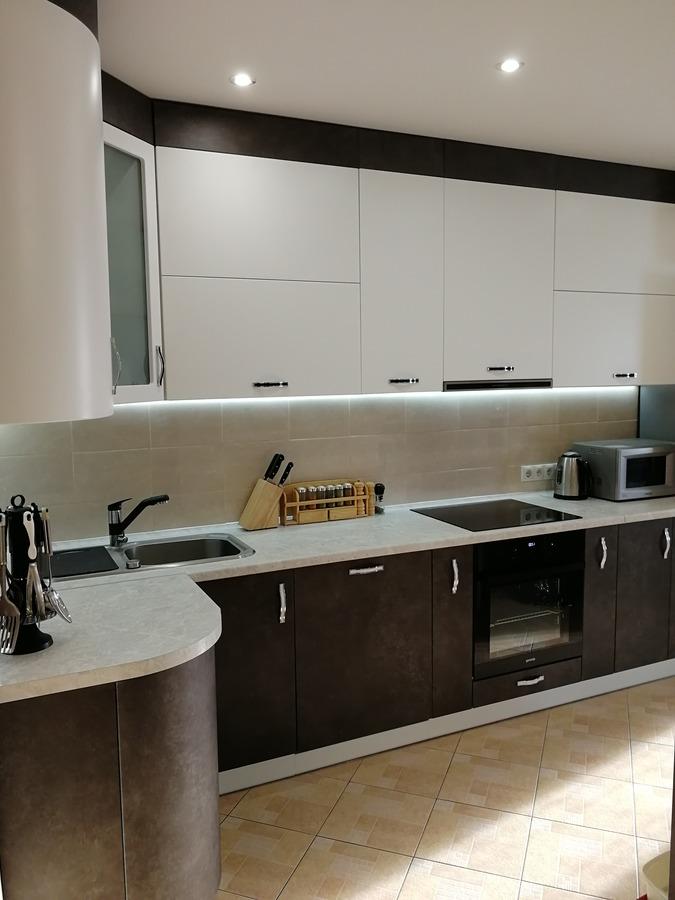 Купить кухню-Кухня МДФ в ПВХ «Модель 27»-фото3