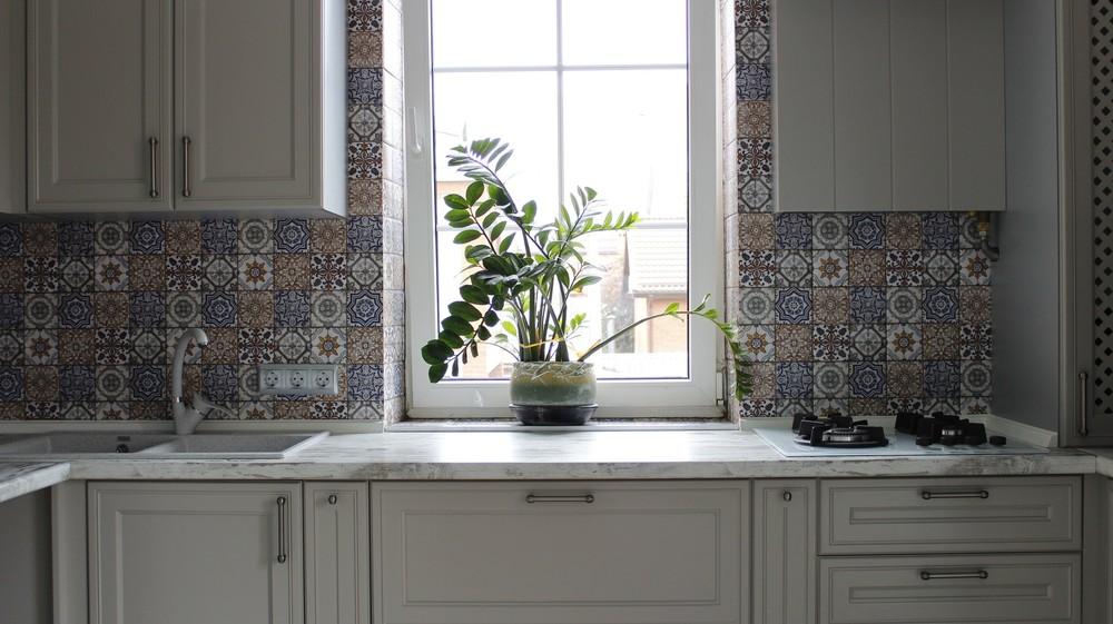 Встроенная кухня-Кухня МДФ в эмали «Модель 283»-фото5