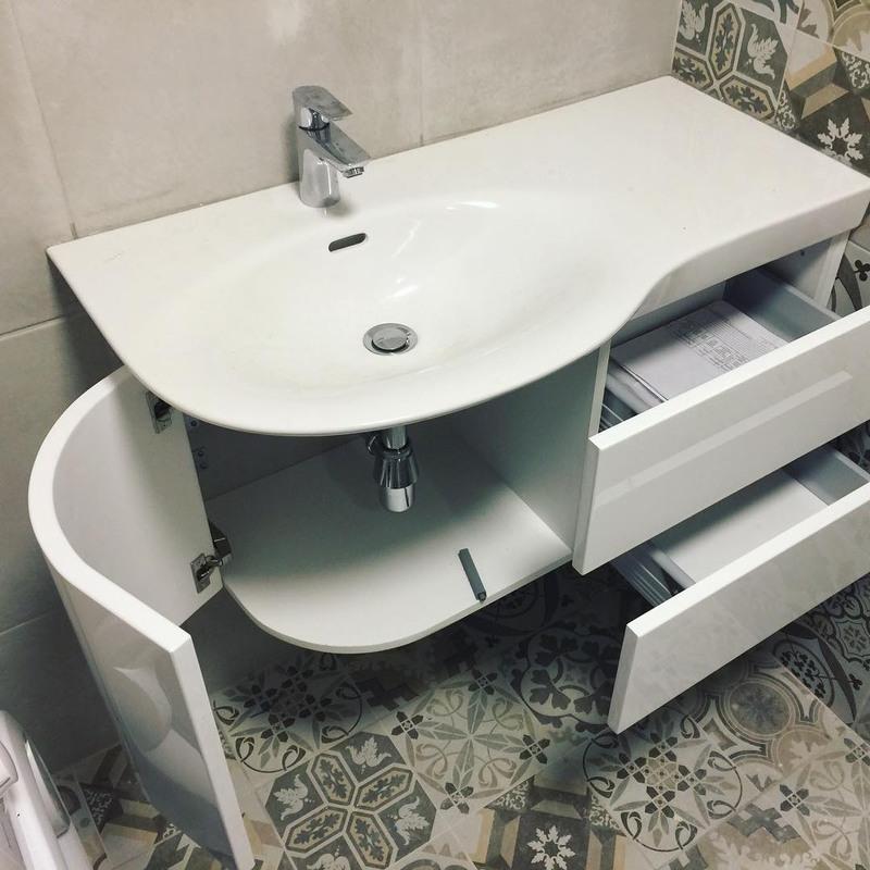 Мебель для ванной комнаты-Мебель для ванной «Модель 34»-фото2