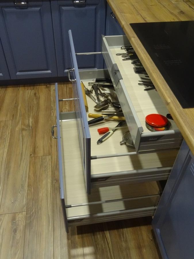 Встроенная кухня-Кухня МДФ в ПВХ «Модель 510»-фото7
