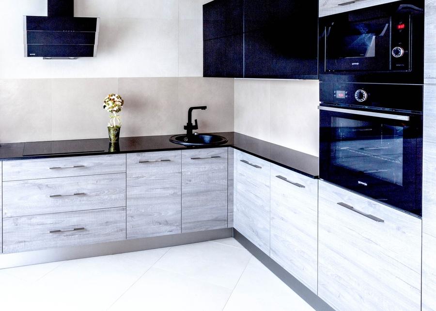 Встроенная кухня-Кухня из ЛДСП «Модель 410»-фото2