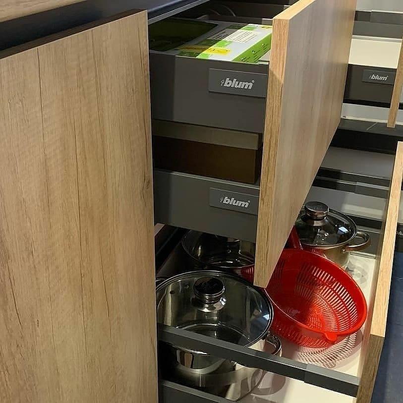 Высокие кухни под потолок-Кухня из ЛДСП «Модель 630»-фото6