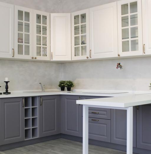 -Кухня МДФ в ПВХ «Модель 282»-фото22