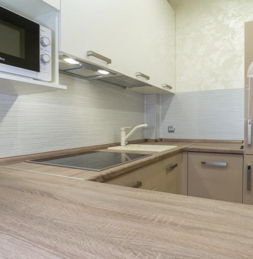 -Кухня из пластика «Модель 1»-фото1