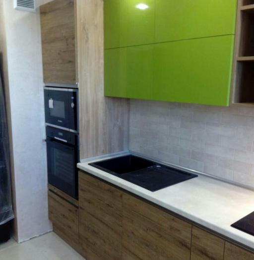 -Кухня из пластика «Модель 379»-фото9