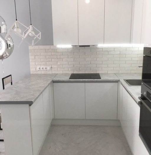 -Кухня МДФ в эмали «Модель 431»-фото29
