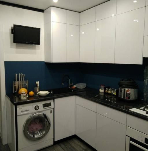 Белый кухонный гарнитур-Кухня «Модель 476»-фото7