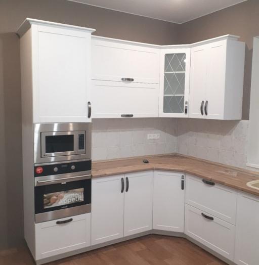 Белый кухонный гарнитур-Кухня «Модель 493»-фото5