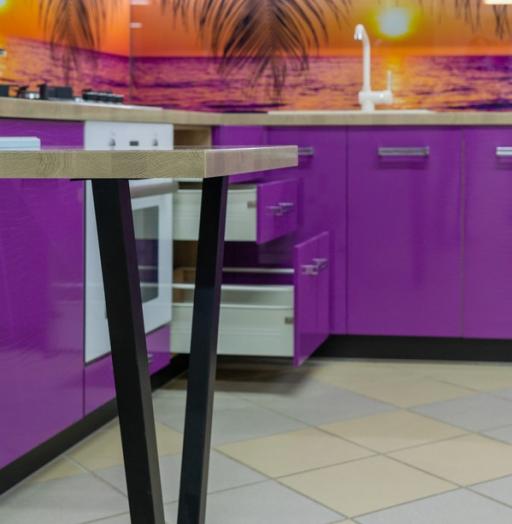 -Кухня МДФ в ПВХ «Модель 45»-фото14