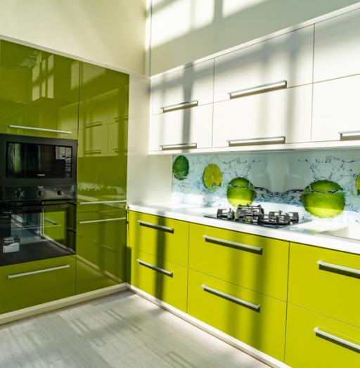 Глянцевые кухни-Кухня МДФ в ПВХ «Модель 53»-фото9